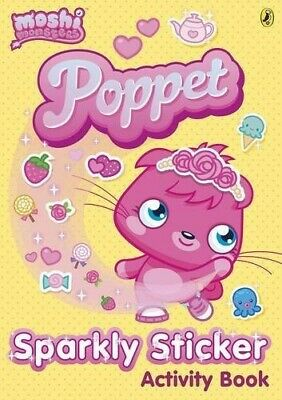 Moshi Monsters: Poppet Sparkly Sticker Activity Book - Good Book • 3.22£