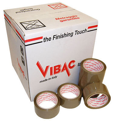 £59.99 • Buy Vibac 831 Brown Solvent Buff Packing Packaging Tape, 48mm X 66m, Choose Quantity
