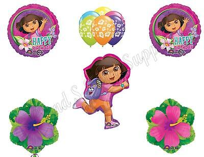 DORA THE EXPLORER  Birthday Party Balloons Decoration Supplies Nick Summer • 18.40£