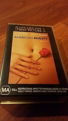 AU15 • Buy American Beauty - Kevin Spacey,  Annette Bening -  Vhs Video Tape