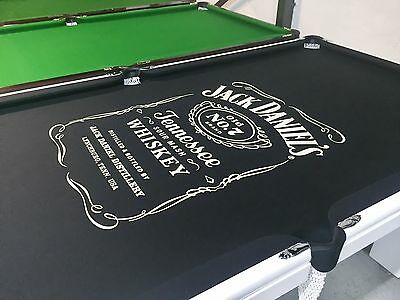 AU4500 • Buy JACK DANIELS 7ft Brazilian Slate Pool Table Pub Size Ballina Gold Coast Grafton