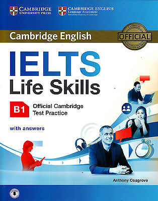 £12.44 • Buy Official Cambridge English IELTS LIFE SKILLS B1 Test Practice With Answers @NEW@