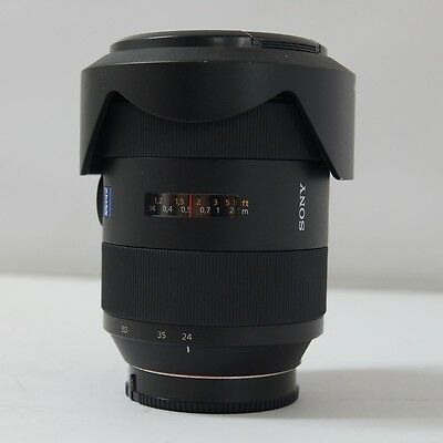 AU1123.49 • Buy Used Sony 24-70mm  Vario-Sonnar T* F2.8 ZA SSM Lens  For Sony A-mount SAL2470Z