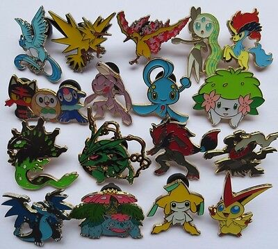 £4.95 • Buy POKEMON Official Pins/Badges (Select Your Choice)