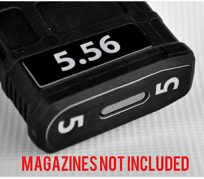 $11 • Buy 5.56 MAGAZINE STICKERS Fits MAGPUL PMAG 30 GEN M3 MAGS WHITE NUMBERS 1-6
