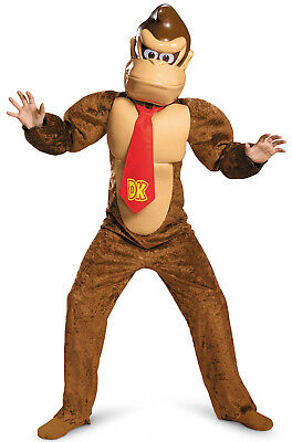 $48.24 • Buy Super Mario Brothers Donkey Kong Deluxe Child Costume