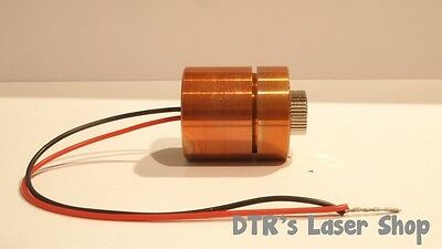 AU174.37 • Buy 25mm 1W NDG7475 520nm Laser Diode In 25mm Copper Module W/Leads