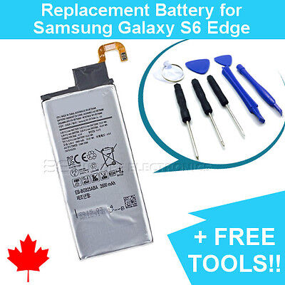 $ CDN10.39 • Buy NEW Samsung Galaxy S6 EDGE Replacement Battery 2600mAh With FREE Repair Tools