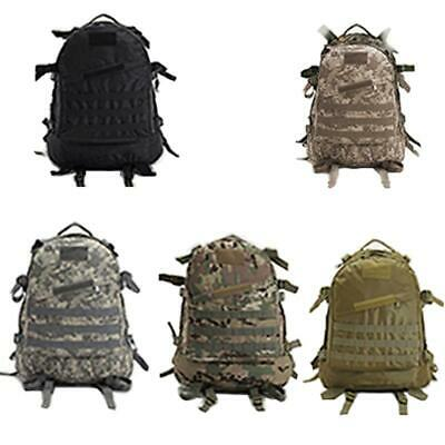 AU34.90 • Buy Utility 3D Outdoor MOLLE Military Tactical Rucksack Backpack Hiking Camping Bag