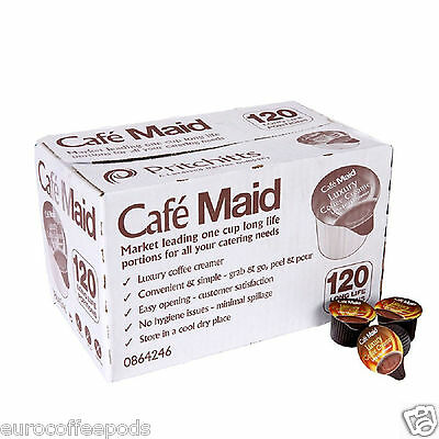 £8.99 • Buy 120 Cafe Maid Coffee Creamer Individual Portions