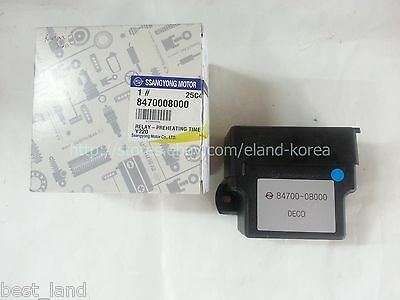 AU187.22 • Buy Genuine Preheating Time Relay For Ssangyong REXTON +D27DT/D20R 04~ #8470008000