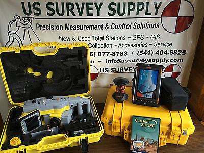 £19528.90 • Buy Geomax 5  Zoom90 A10 Reflectorless Robotic Total Station W/ Carlson - Financing