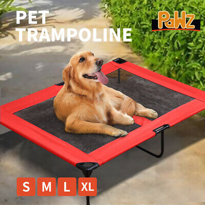AU32.99 • Buy Heavy Duty Pet Dog Bed Trampoline Hammock Canvas Cat Puppy Cover RED