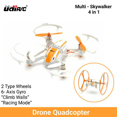 AU49 • Buy Drone Quadcopter Mini 4-in-1 UDI U843 Air Ground 2.4GHz Radio Amphibious RTF R/