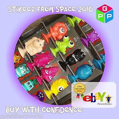 Lidl Stikeez From Space 2016... All Stikeez Available... Choose From Drop List • 6.99£