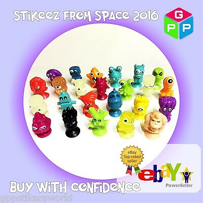 Lidl Stikeez From Space 2016 Full Set, Also Available With Collector Box • 47.99£