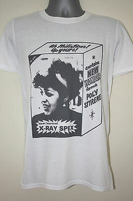 X-ray Spex T-shirt Sisters Of Mercy Siouxsie And The Banshees Poly Styrene Wire • 10.99£