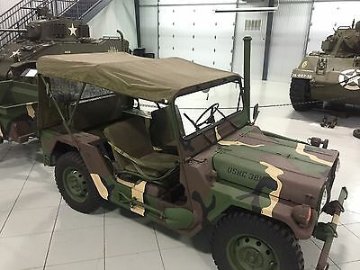 $115 • Buy Jeep M151 M151A1 M151A2 MUTT Top Cover Vehicular Vinyl OD Green NOS RARE