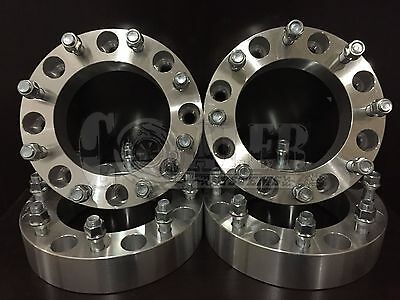 AU245.07 • Buy 4 X WHEEL SPACERS 8 LUG ADAPTERS FORD SUPER DUTY EXCURSION 2.0  Thick 8X170