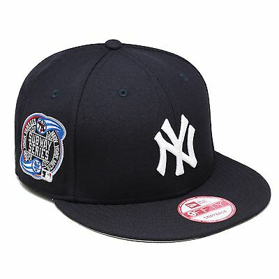 a2de115c0 New Era New York Yankees Snapback Hat Cap SUBWAY 2000 World Series Side  Patch • 35.00