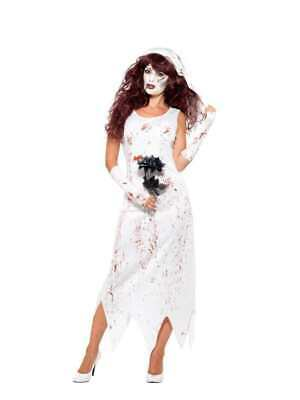 Zombie Bride Costume Smiffys Fancy Dress Costume • 11.39£