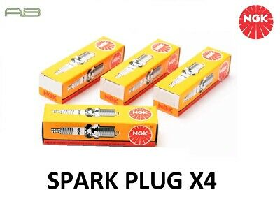 4x Genuine Ngk 4824 Bpr6es-11 Spark Plug Kit • 13.03£