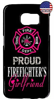 $ CDN17.66 • Buy Firefighter Girlfriend Case Cover For Samsung Galaxy S8 S9 Plus S7 Note 9 8 5