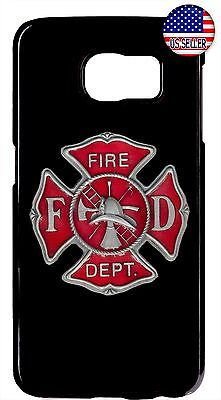 $ CDN17.80 • Buy New Case Cover For Samsung Galaxy S8 S9 Plus S7 Note 9 8 5 Firefighter Fireman