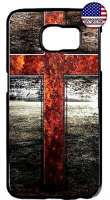 $ CDN17.80 • Buy Case Cover For Samsung Galaxy S8 S9 Plus S7 Note 9 8 5 Cross Christian Jesus