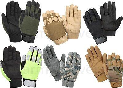 $17.99 • Buy Military Lightweight Tactical All Purpose Duty Work Gloves SIZE S-2X