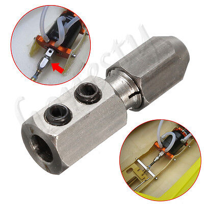Stainless Collet Coupler For 3.18/4/5mm Motor Shaft 4/4.76mm Flex Cable RC Boat • 3.77£