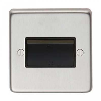 From The Anvil Fan Isolator Switch - Satin Stainless Steel 34213/1 • 50.44£