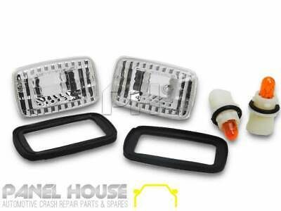 AU29 • Buy Indicator Lights PAIR Clear Fits Toyota LANDCRUISER 76 78 79 Series 2007-2018