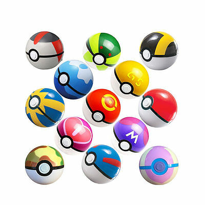 Pokemon Go Pokeball Pop-up 7cm Plastic Ball Toy Action Figure Games  • 9.99£