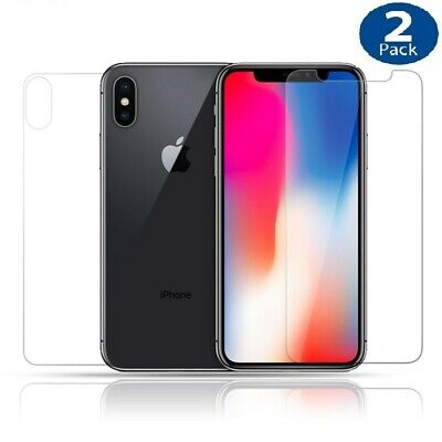 AU3.99 • Buy 2 X Tempered Glass Screen Protector For Apple IPhone X XS MAX XR 8 7 6 Plus 6S 5