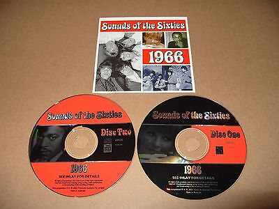Sounds Of The Sixties 1966 2 Cd 36 Track 2002 Time Life Excellent Condition Rare • 15.79£