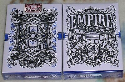 $ CDN27.99 • Buy 1 Deck BLUE Empire Bloodlines Playing Cards By Lee McKenzie-S102296-乙C3
