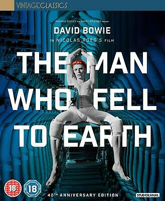 The Man Who Fell To Earth (40Th Anniversary) Collector'S Edition (Blu-Ray ) • 15.99£