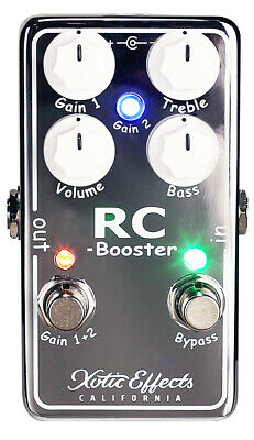 £120.21 • Buy Xotic Effects RC Booster V2 Boost Pedal - Free US Shipping!