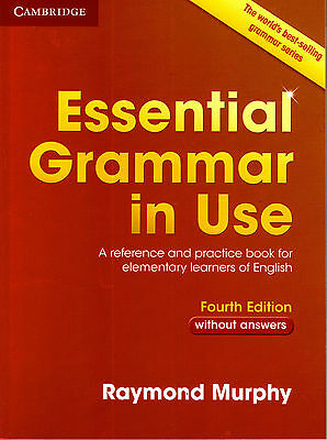 £22.44 • Buy Cambridge ESSENTIAL GRAMMAR IN USE Without Answers FOURTH Edition / R Murphy NEW