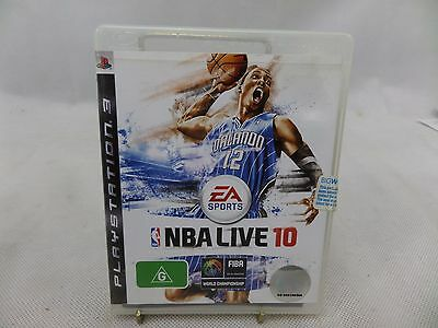 AU10 • Buy NBA Live 10 PS3 Game USED