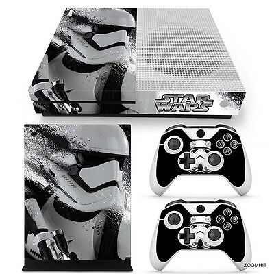 $13.99 • Buy Xbox One S Console Skin Decal Sticker Star Wars StormTrooper Custom Design Set