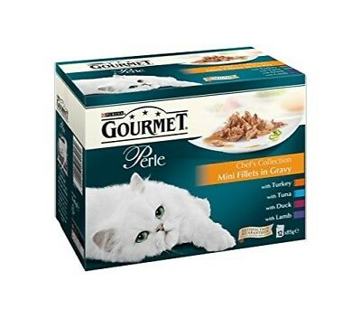 Gourmet Perle Chefs Collection 48 X 85g Wet Cat Food • 31.89£