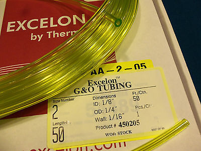 $2.55 • Buy Clear Yellow Fuel Line,1/8 X 1/4,.125X.250,Craftsman,Ryobi,Poulan,Weedeater-1 Ft