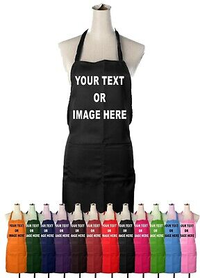 Personalised Adults Chefs Apron Cooking Custom Printed Novelty Gift Mens Ladies • 12.99£