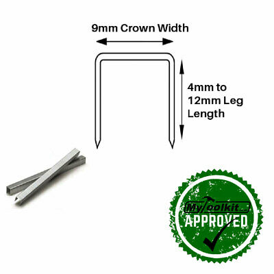 71 Series Stainless Steel Staples In 4mm-12mm Upholstery Fine Wire Staples • 48.04£
