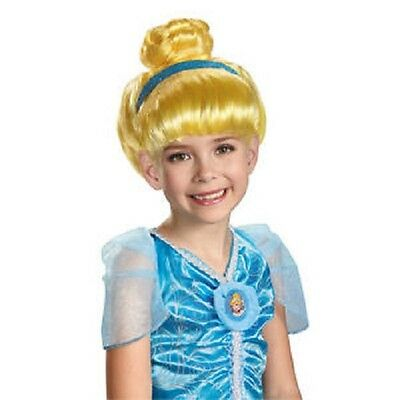 £6.48 • Buy Disguise Disney Princess Cinderella Blonde Child Wig For Girls Ages 4+ NEW