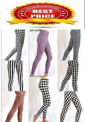 £5.99 • Buy New Women's Soft Touch Ankle Length Various Print Pattern  Legging Size 8-14