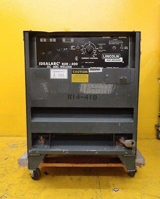 £656.70 • Buy Lincoln Electric R3R-300 DC Arc Welder Idealarc Used Working