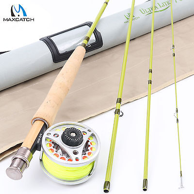 $ CDN90.69 • Buy 3WT Fly Fishing Rod Combo 7FT 4SEC Fly Rod & 3/4WT Aluminum Fly Reel & Fly Line